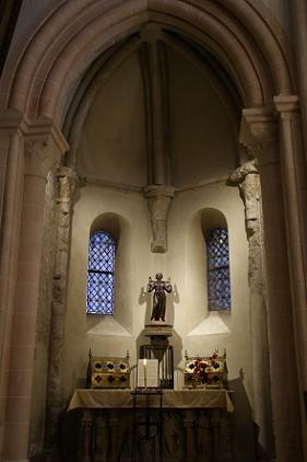Eglise Saint Marcel - 71 - Chapelle Saint-Marcel