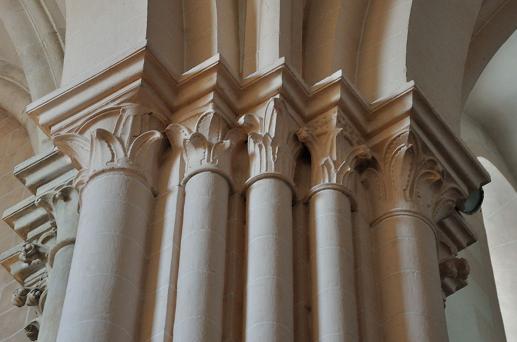 Eglise Saint Marcel - 71 - Chapiteaux
