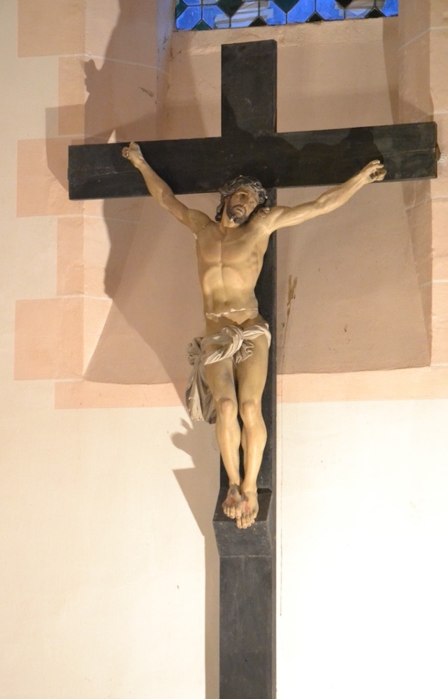 Eglise Saint Marcel - 71 - Christ en Croix
