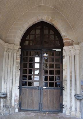 Eglise Saint Marcel - 71 - Porte